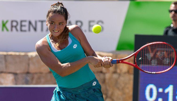 Viktoria Kuzmova backhand
