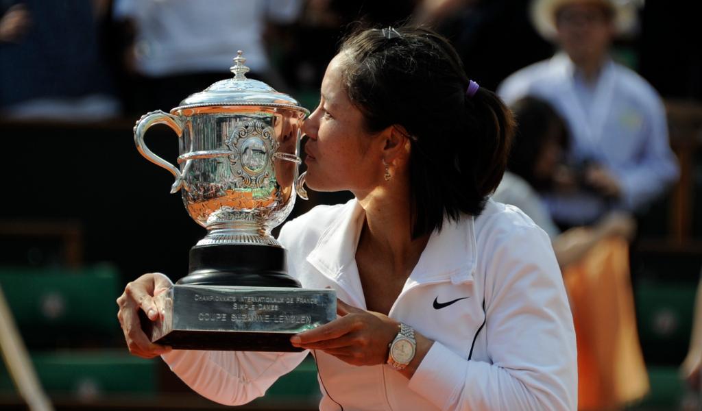 Li Na French Open glory