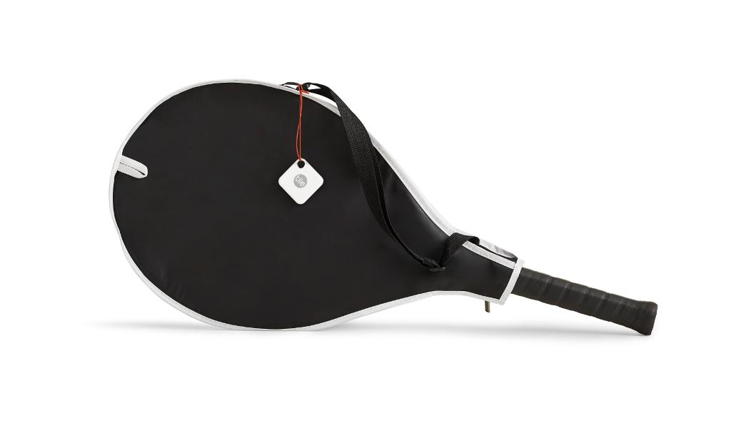 Tennis Racket Pro White
