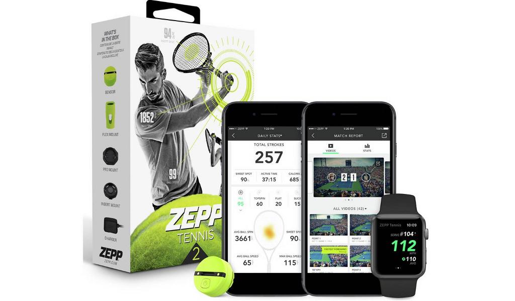 Zepp 2 Tennis Swing Analyser