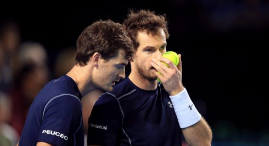 Jamie Murray and Andy Murray tactics