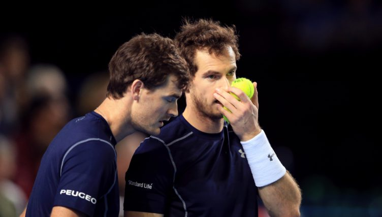 Jamie Murray and Andy Murray tactics