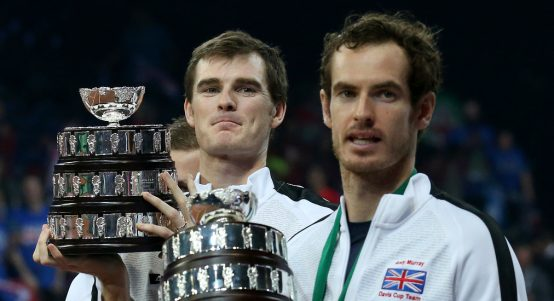 Jamie Murray and Andy Murray Davis Cup