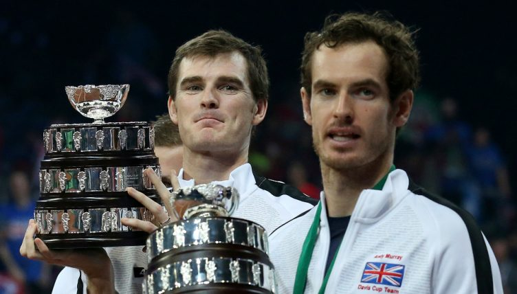 Jamie Murray and Andy Murray Davis Cup - stressful to watch for mum Judy Murray