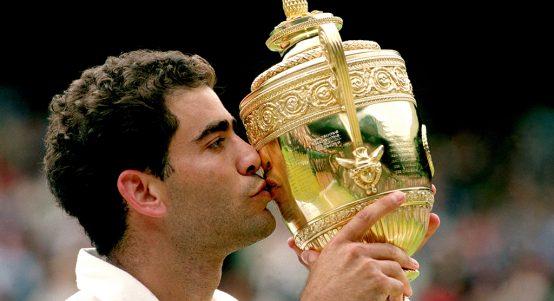 Pete Sampras Wimbledon trophy