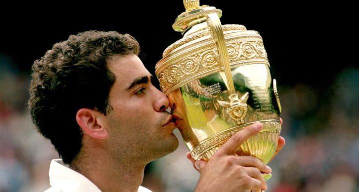 Pete Sampras Wimbledon trophy