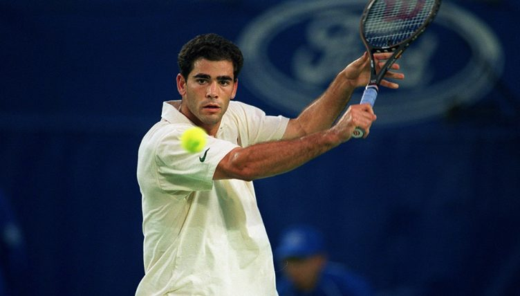 Pete Sampras backhand