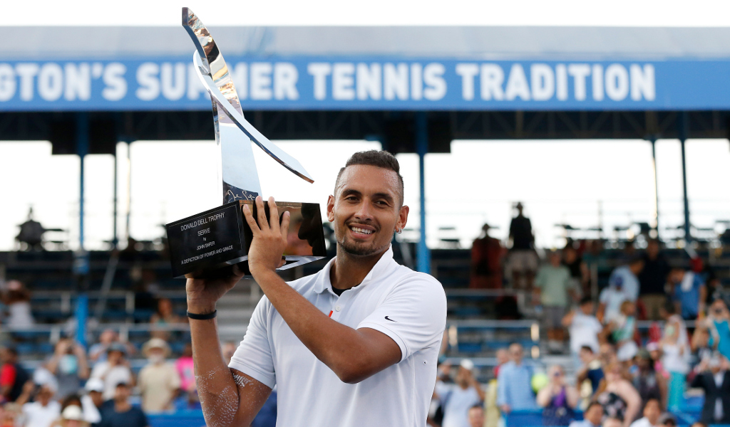 Nick Kyrgios Citi Open