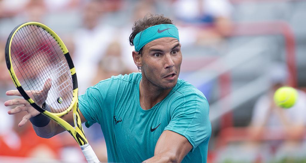 Rafael Nadal at Rogers Cup