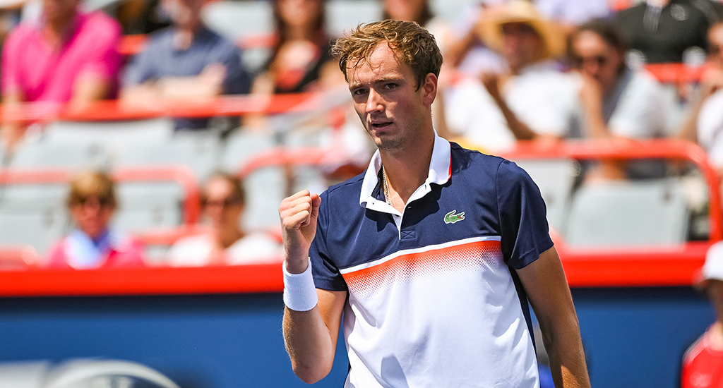 Daniil Medvedev fist pump