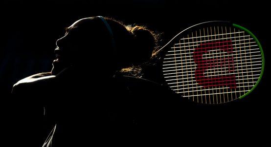 Serena Williams shadowy