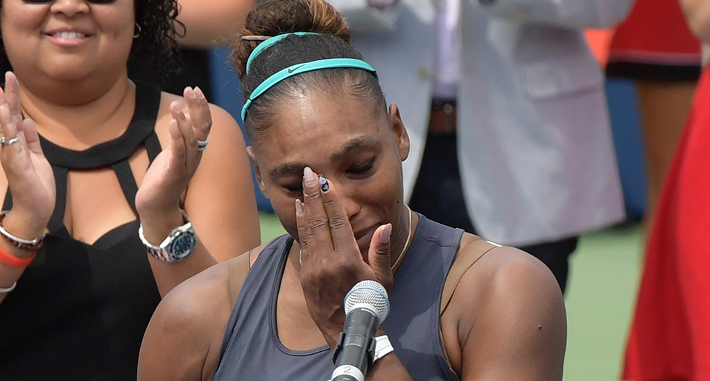 Serena Williams distressed at Rogers Cup