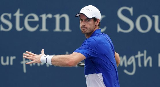 Andy Murray forehand Cincinnati Open