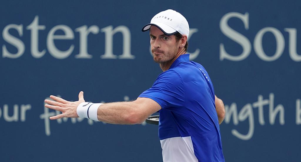 Andy Murray forehand Cincinnati Open