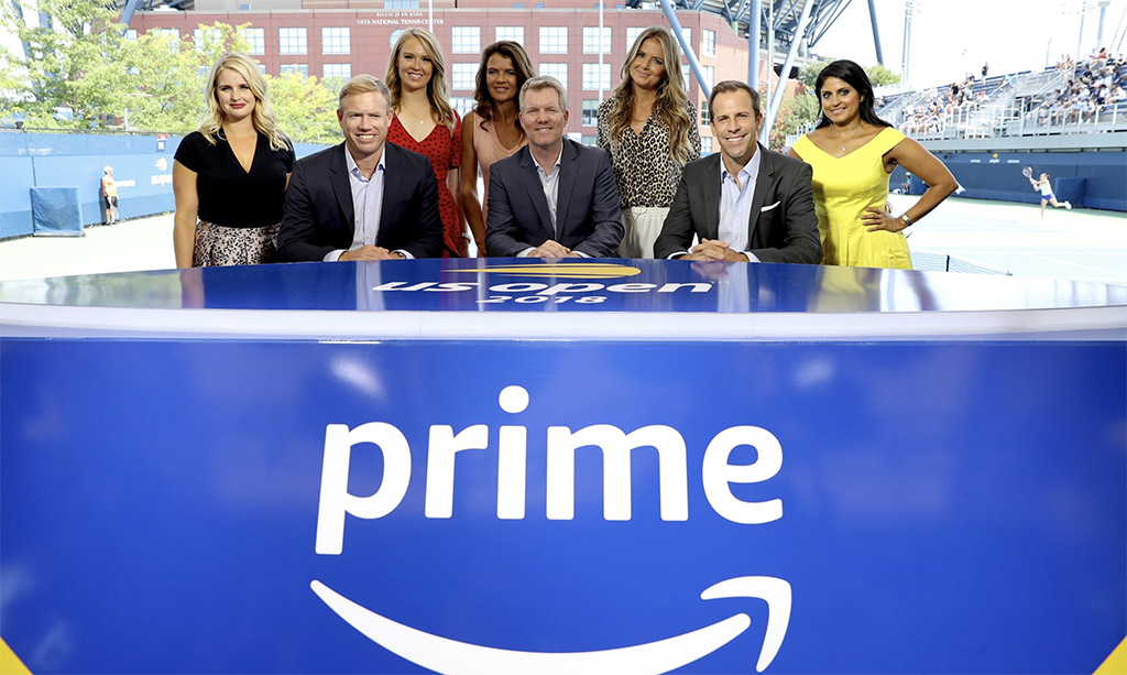 Amazon Prime team, leading a revolution in televised sport