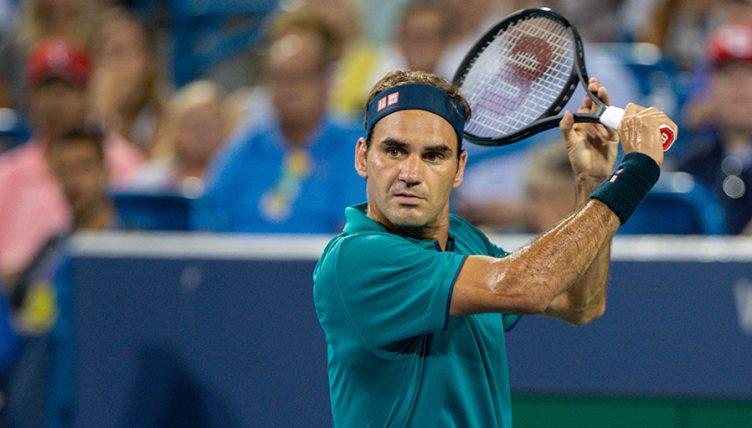 Roger Federer backhand Cincinnati