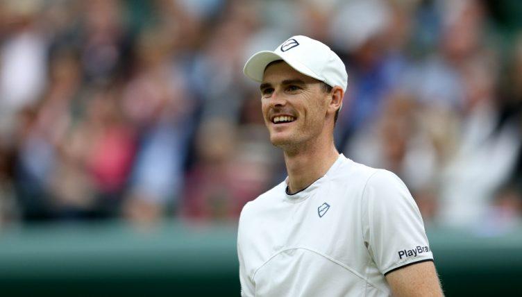 A happy Jamie Murray