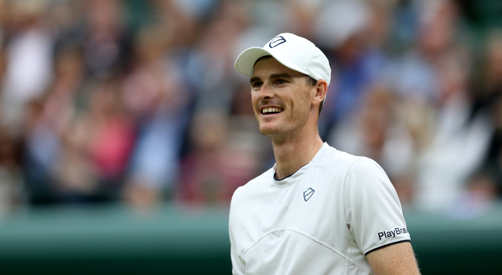 A happy Jamie Murray