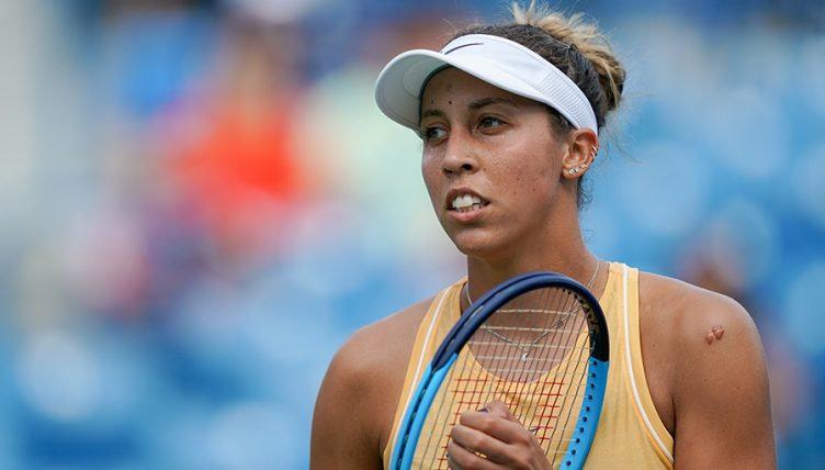 Madison Keys at Cincinnati Open
