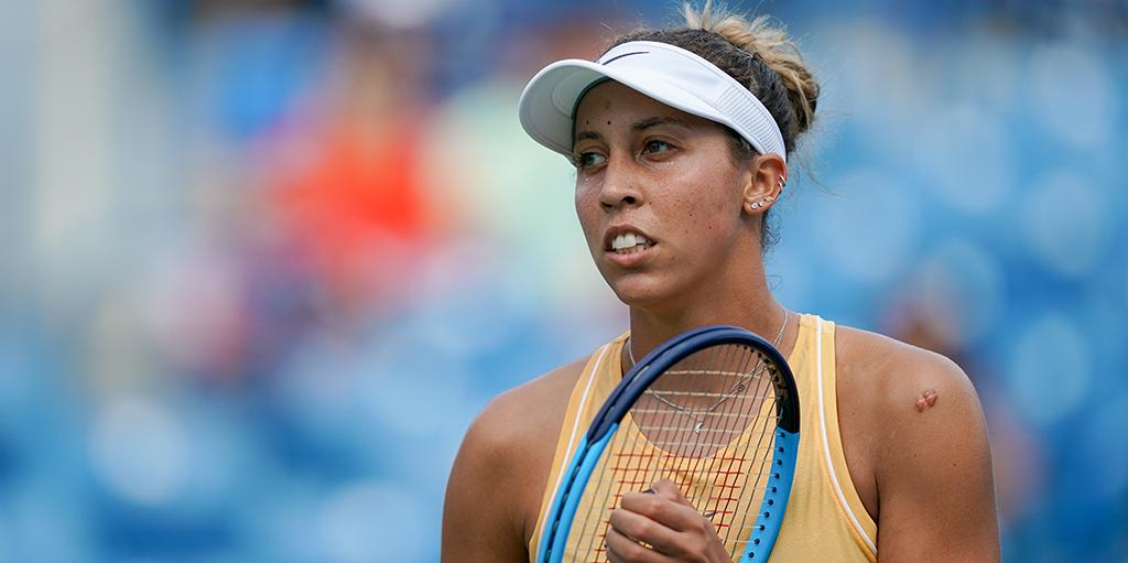 Madison Keys at Cincinnati Open