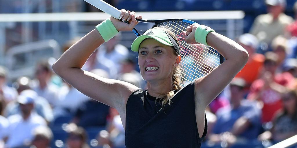Kristina Mladenovic - shock win at US Open