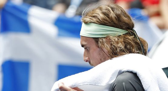 Stefanos Tsitsipas unhappy at US Open