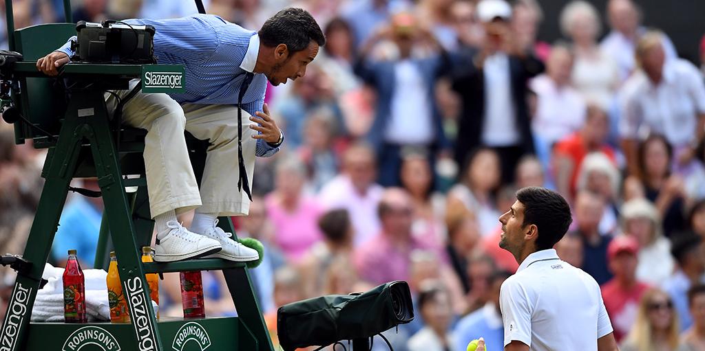 Umpire For Epic Novak Djokovic V Roger Federer Wimbledon Final Sacked Over Comments Tennis365 Com