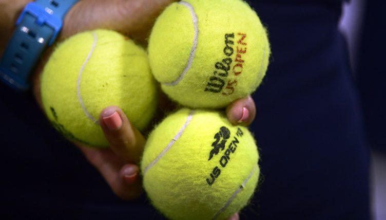 US Open tennis balls