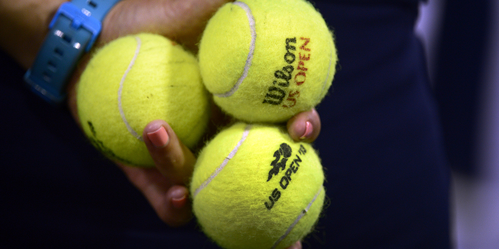 US Open tennis balls