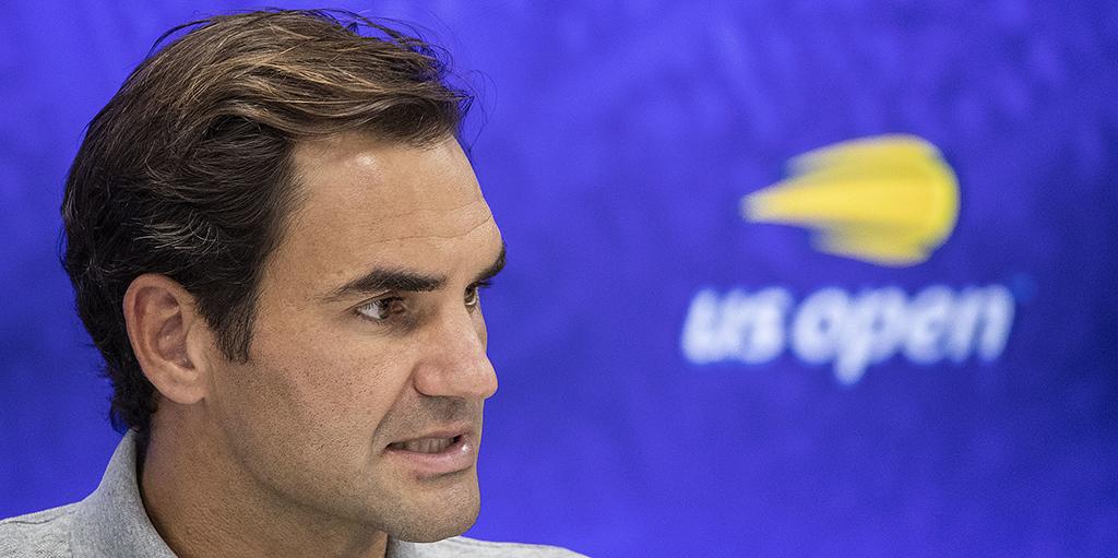 Roger Federer US Open press conference