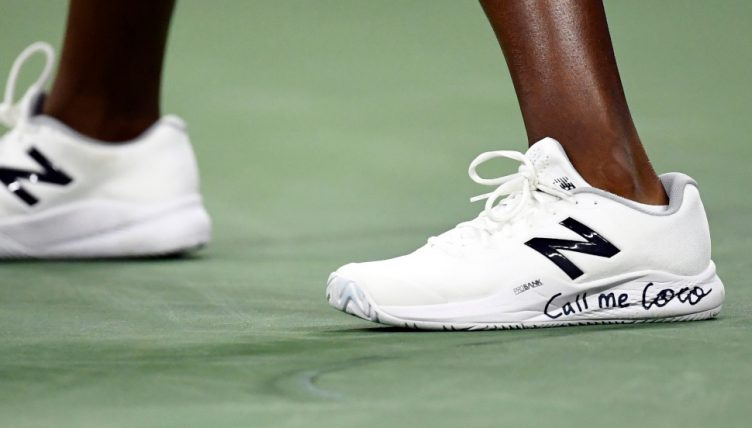 Coco Gauff shoes