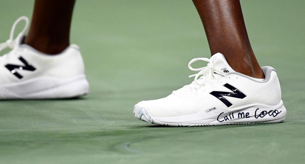 Coco Gauff shoes
