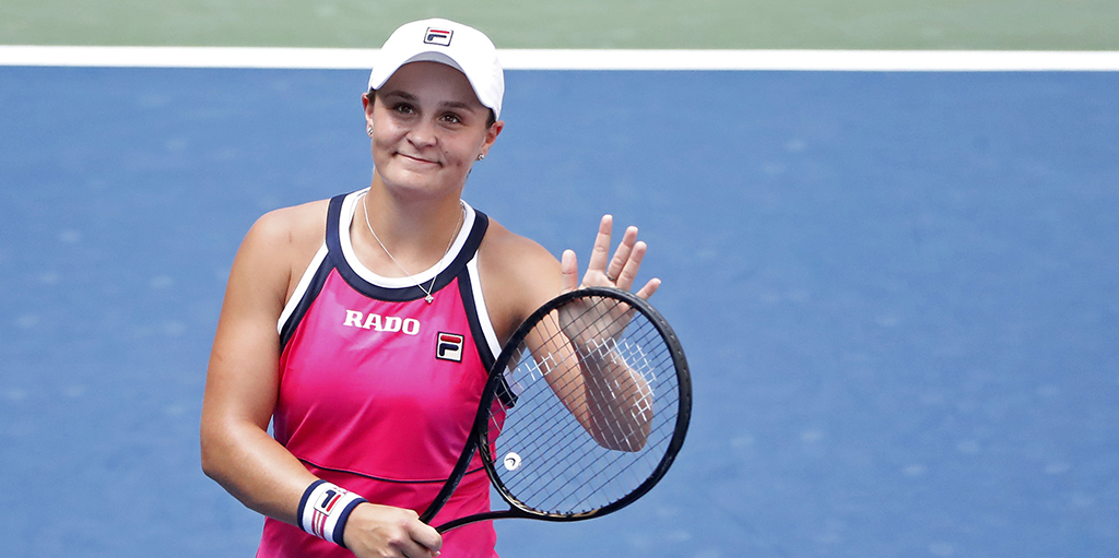 Ashleigh Barty at US Open