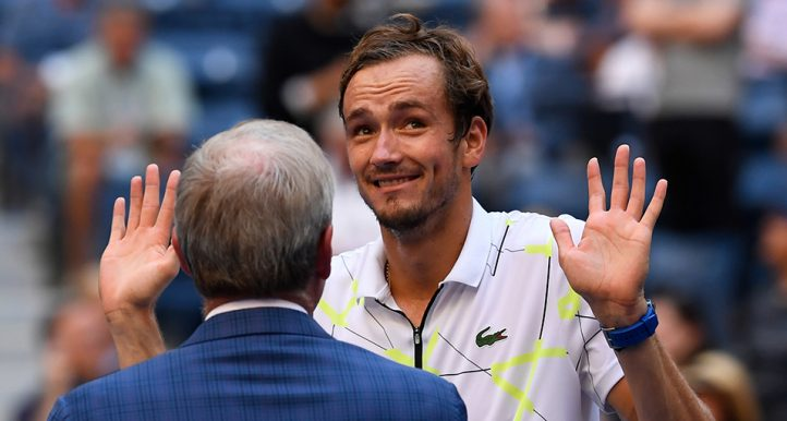 Daniil Medvedev at US Open