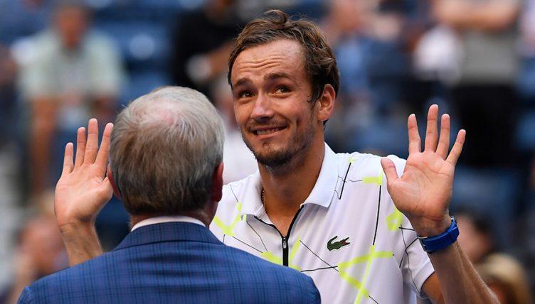 Daniil Medvedev at US Open