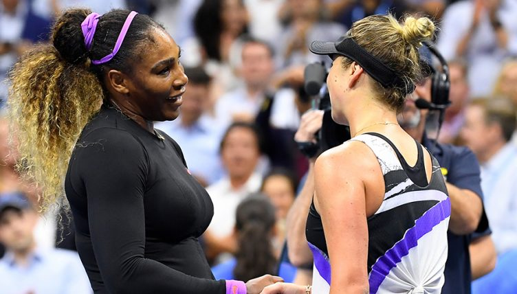Serena Williams and Elina Svitolina