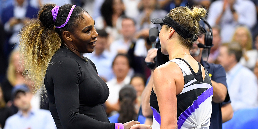 Serena Williams and Elina Svitolina