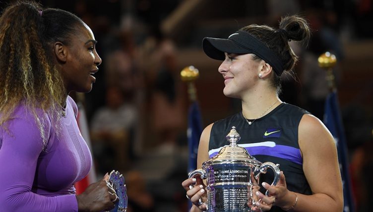 Bianca Andreescu and Serena Williams US Open