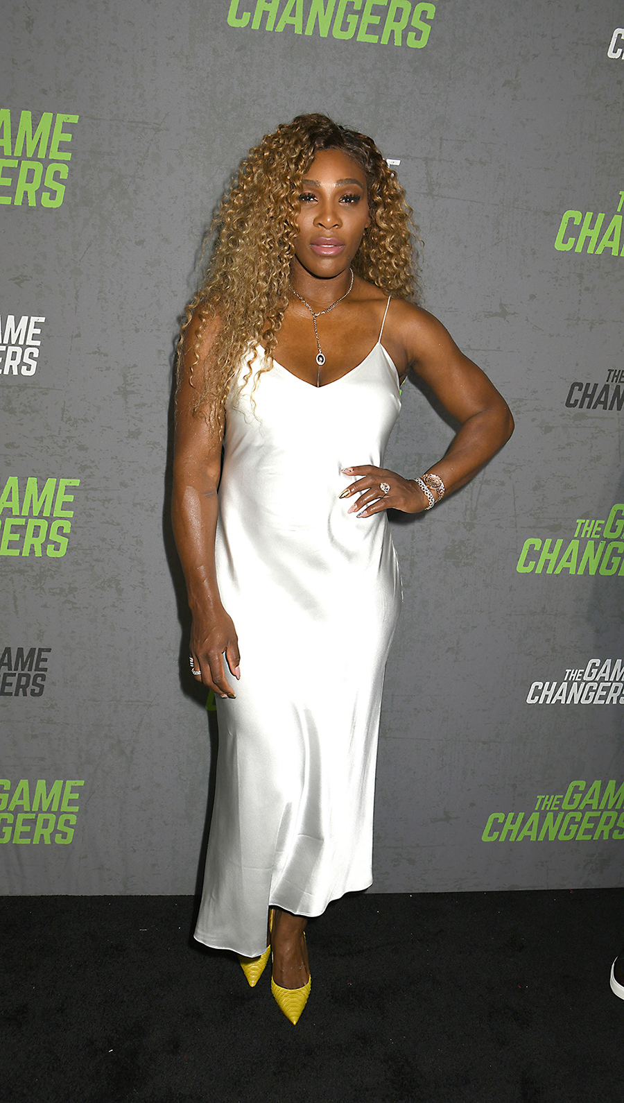 Serena Williams white dress