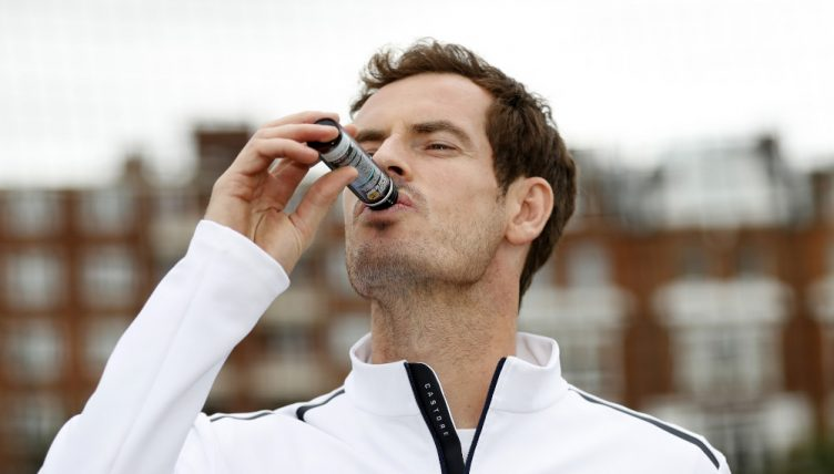 Andy Murray with TRR Nutrition PRO Advanced Collagen Daily Liquid Supplement