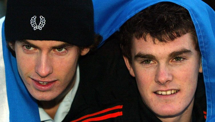 Jamie Murray and Andy Murray as kids