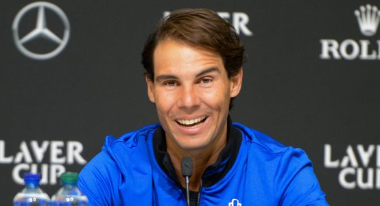 Rafael Nadal press conference at Laver Cup