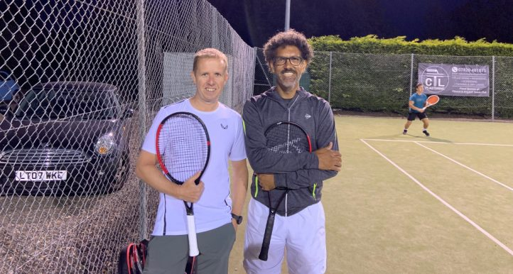 racket adviser Steve Smith and Kevin Palmer
