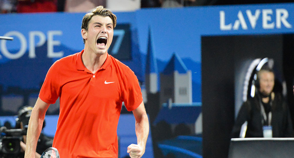 Taylor Fritz at Laver Cup