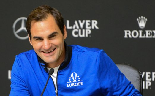 Roger Federer press conference at Laver Cup