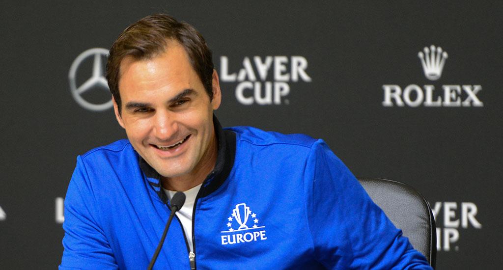 Roger Federer press conference at Laver Cup