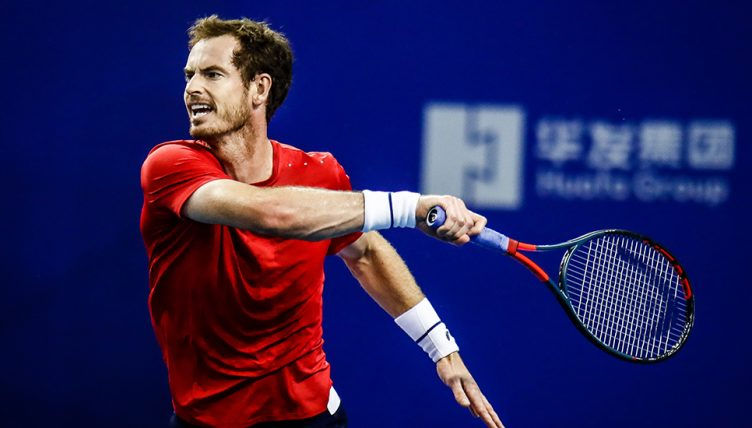Andy Murray forehand Zhuhai