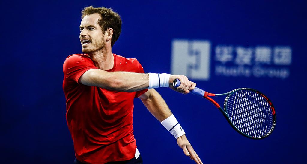 Andy Murray forehand Zhuhai