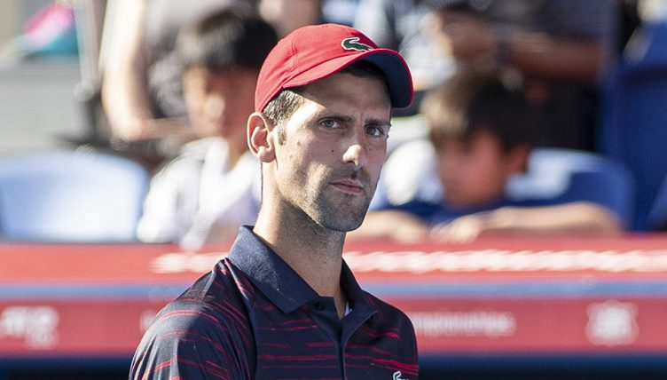 Novak Djokovic at Japan Open