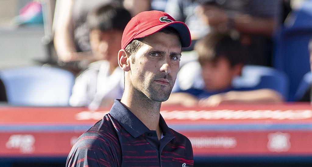 Novak Djokovic at Japan Open